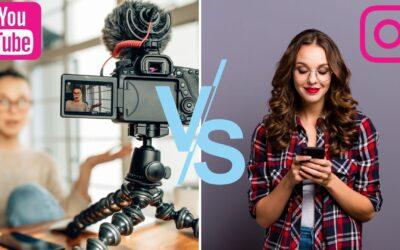 YouTube vs. Instagram – Darum ist Instagram keine Alternative!